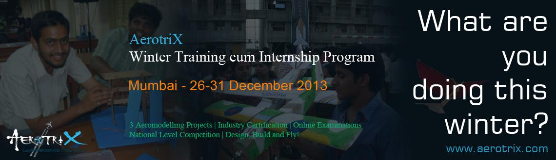 AerotriX Winter Training and Internship Program at Mumbai