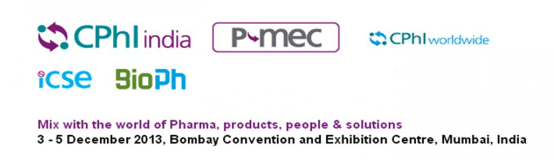 Book Online Tickets for CPhI and P-MEC India, Mumbai. CPhI and P-MEC India: