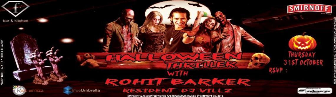 Halloween Party w/ Dj Rohit Barker