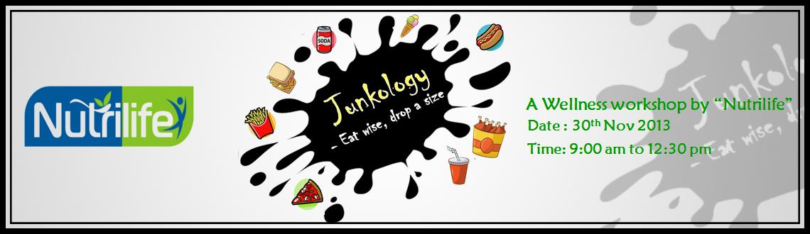 Book Online Tickets for JUNKOLOGY - Eat Wise, Drop a size, Bengaluru. Junkology aims in providing an insight to what Junk eating does and how one can overcome thee cravings. This workshop is for those who are fighting to reach their fitness goals, overweight and obese individuals and those who are simply health conscio