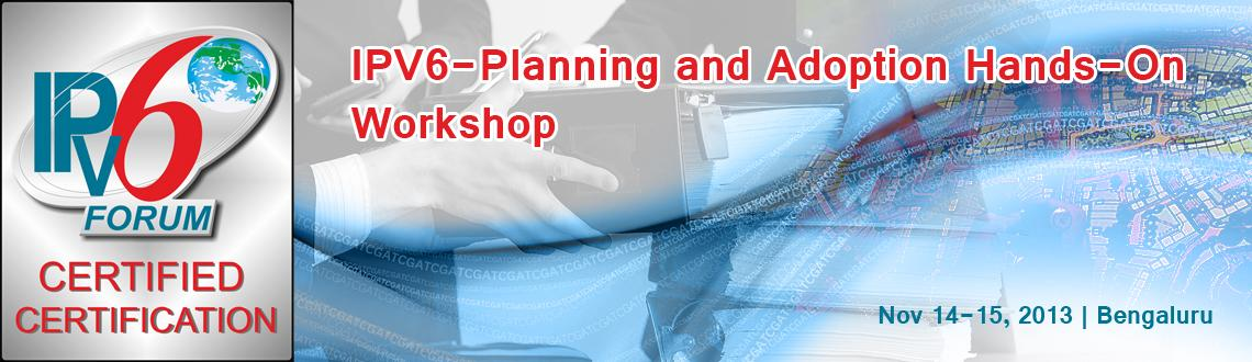 IPV6-Planning and Adoption Hands-On Workshop