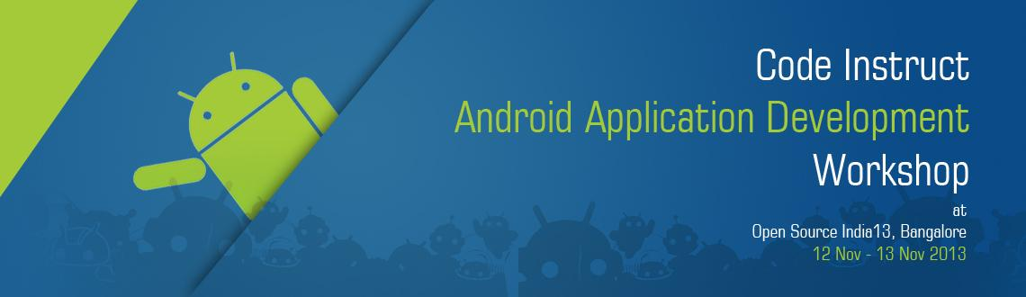 Code Instruct Android Application Development Workshop