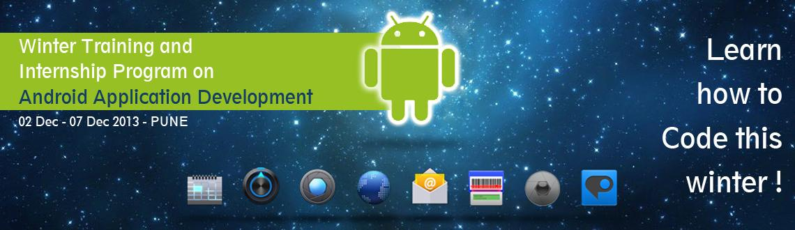 Code Instruct Winter Training and Internship Program on Android Application Development at Pune