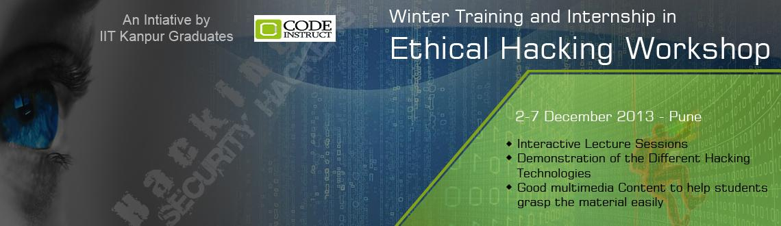 Code Instruct Winter Training and Internship in Ethical Hacking at Pune