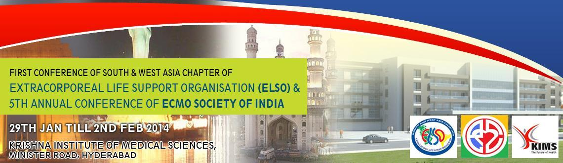 Both ECMO Training Program as well as Conference for Para Medicals - South Asian Countries