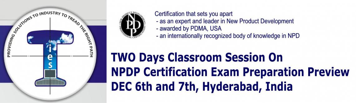 TWO day classroom session on NPDP Certification Exam Review