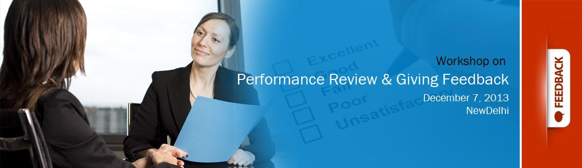 Workshop on Performance Review & Giving Feedback - Delhi