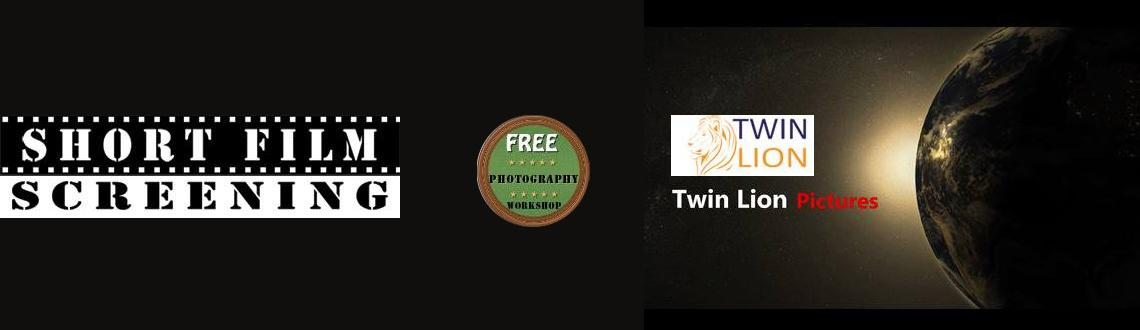 Book Online Tickets for Twin Lion Short Film Screening, Mumbai. Join us for our monthly short film screening Date :16-November-2013 | Time 3:30 pm | Venue: Rock Ville , Citi Tower, Plot No.55, Sector 15, CBD Belapur, Navi Mumbai.Free Workshop on Photography | Free Admission | For more info contact us at twin
