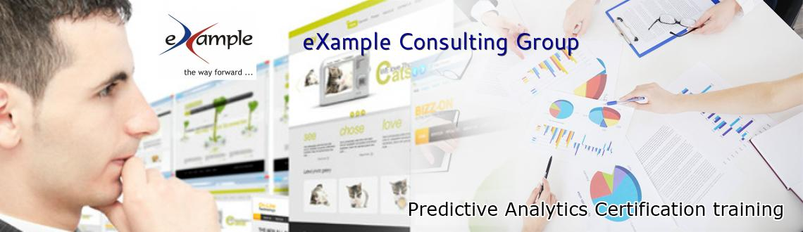 Predictive Analytics Certification training (In-Person and Live Online Classroom)