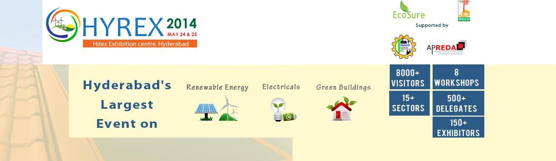 Book Online Tickets for HYREX 2014 , Hyderabad.   