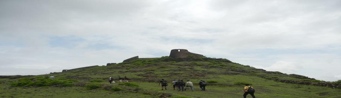 Book Online Tickets for Malhargad Fort Restoration Drive - Phase, Pune. Will be visiting Fort Malhargad for the fort restoration on 23rd Nov 13. In this project we will be doing stare case work, road work, installation of safety bars.People who are interested are requested to call Umesh Tharkude - 98501 99840|umesh@vinsy