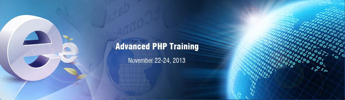 Book Online Tickets for Advanced PHP Training, Hyderabad. This course has been designed for Developers, Senior Developers & Architects who are interested in exploring the details of different frameworks built around Advanced PHP, Utilities which can be reused as also MVC tools, Webservices and Security