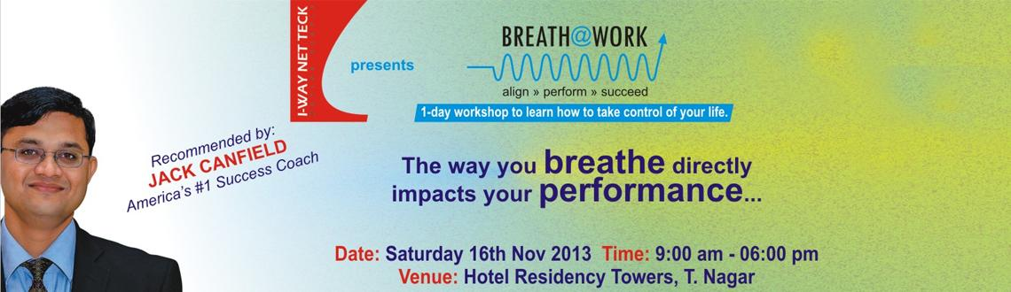Breath @ work at Chennai