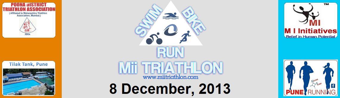 Mii Triathlon on 8th  Dec 2013