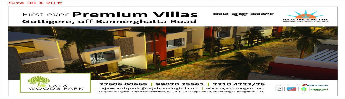 Grand Launch - Raja Woods Park - A villa project by Raja Housing Ltd