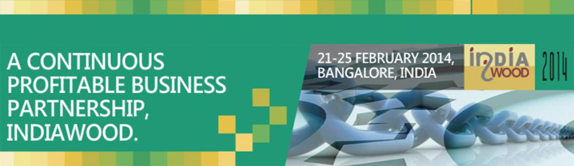 Book Online Tickets for India wood 2014, Bengaluru. INDIAWOOD 2014, the 8th Edition of the largest trade fair outside Europe & USA, for Woodworking machinery, tools, accessories and raw materials is scheduled to be held from February 21- 25 2014 at Bangalore, India. Once again this event is expect