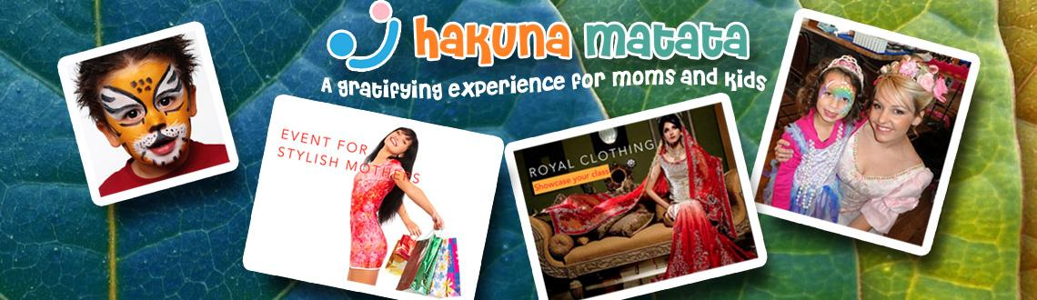 "Book Online Tickets for Hakuna Matata, Mumbai. Discover a world of exuberant ideas under one roof, everything you need to promote your products or services ""Hakuna Matata"" is a children's event you will treasure; a classy rendezvous showcasing every aspect of fun activities, toy"