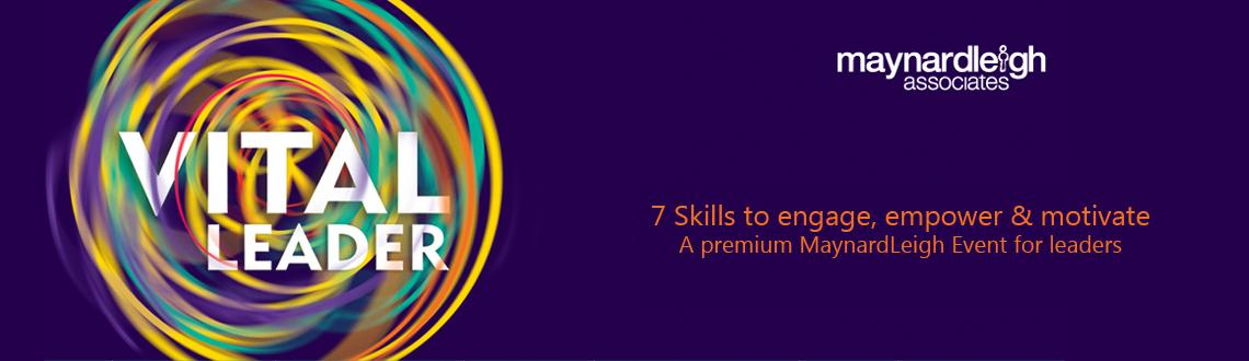 Book Online Tickets for The Vital Leader, NewDelhi. This is a challenging workshop for leaders who want to inspire excellence in theirorganisations. It uses ideas from the theatre and the performing arts andexplores the sort of leadership needed for the 21stand encourages people to produce