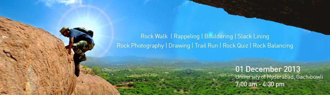 Book Online Tickets for Hyderabad Rockathon, Hyderabad. The Great Hyderabad Adventure Club and the Society to Save Rocks  are  conducting the Second Hyderabad Rockathon to highlight the preservation  of our stunning Deccan rockscapes for adventure sports, recreation and  environmental protection on t