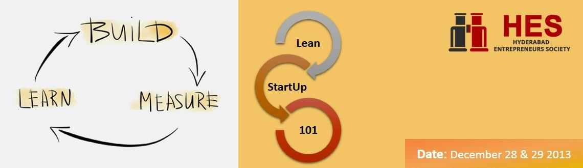 Lean StartUp 101