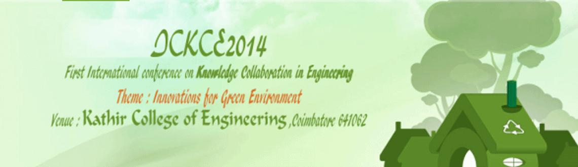 Book Online Tickets for ICKCE 14, Coimbatore. It leads to collapse the environment. Green Technology is the roadmap for applying the technology for creation of the environment friendly and efficient utilization of available resources. The evolution of the green technology is to attain the object