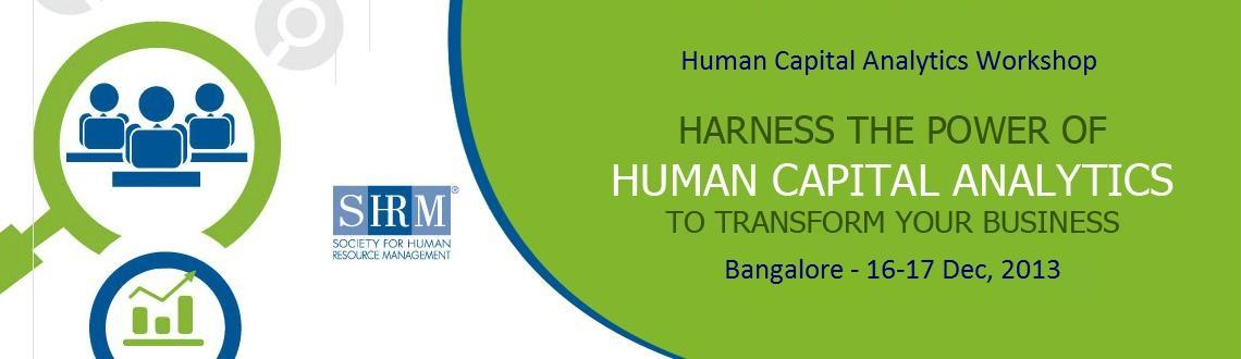 Human Capital Analytics Workshop