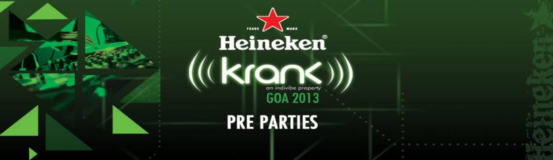 Heineken presents Krank Promo Party w/ Kohra | Pune | Nov 29th