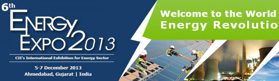 Book Online Tickets for Energy Expo 2013, Ahmedabad. DETAILS: