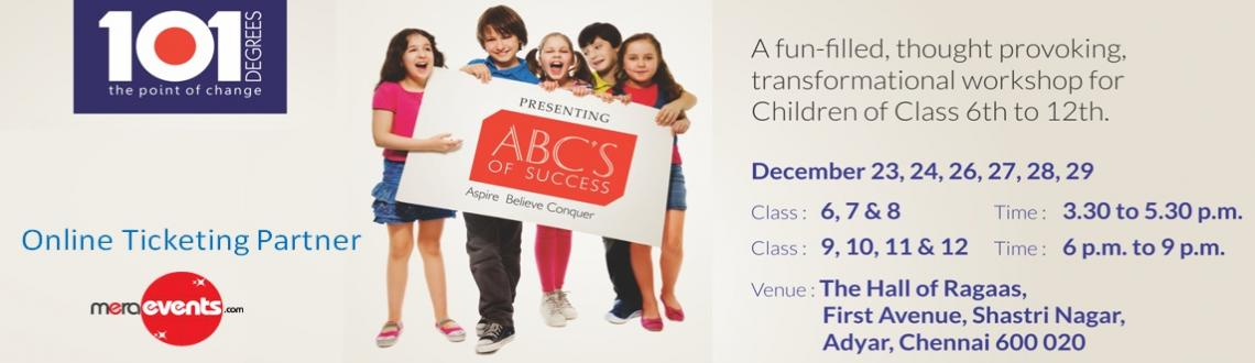 ABC's of Success - A transformational workshop for children