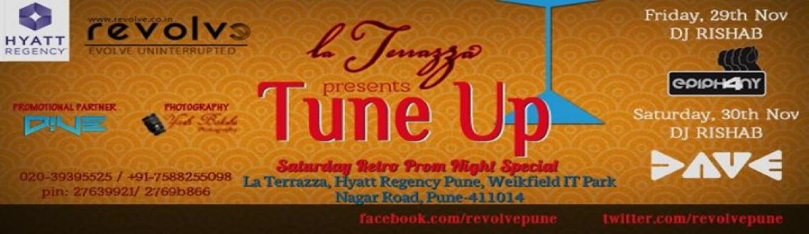Tune Up: Sat Retro-Prom Night Special @ La Terrazza, Hyatt Regency Pune