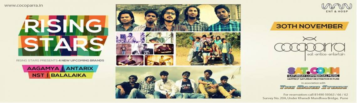Book Online Tickets for Rising Stars 3, Pune. The Band Store and Cocoparra presents..... Rising Stars 3The third edition of an already successful musical event showcasing some seriously talented, upcoming bands from in and around the city. In this edition, we have 4 bands playing styles ran