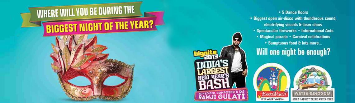 Book Online Tickets for ESSELWORLD BIGNITE 2013 Indias Largest N, Mumbai. Celebrate the New Year at ESSELWORLD BIGNITE 2013 India's Largest New Years Bash on a venue spread across 64 acres spread asia's largest theme park. Groove with the prominent singer, dancer and composer DJ RAMJI GULATI. 
