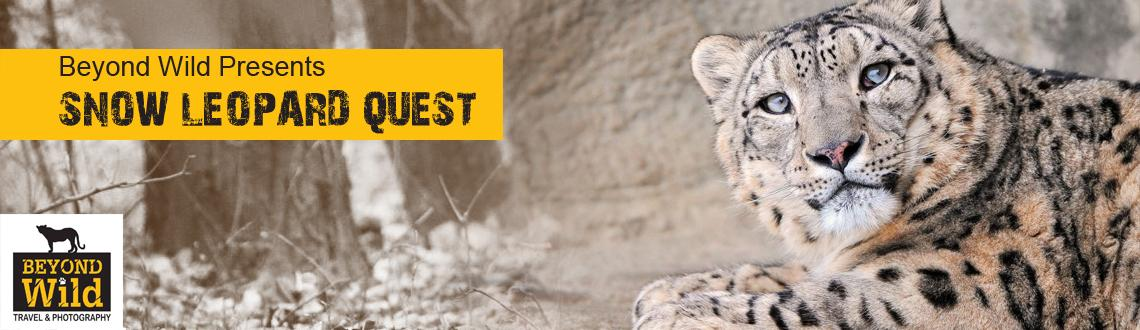 Beyond Wild Presents SNOW LEOPARD QUEST from 13-23 Feb 2014