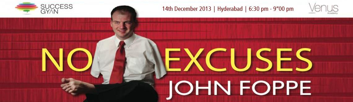 John Foppe  Live in India - Hyderabad
