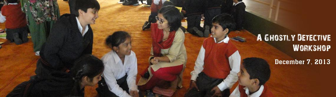 Book Online Tickets for A Ghostly Detective Workshop, Bengaluru. Join author Shweta Taneja for a detective mystery! Help Kartik, the feisty 12-year-old from The Ghost Hunters of Kurseong solve a ghostly mystery. You will need to bring friends to make sure you can solve all the clues. The mystery includes a missing