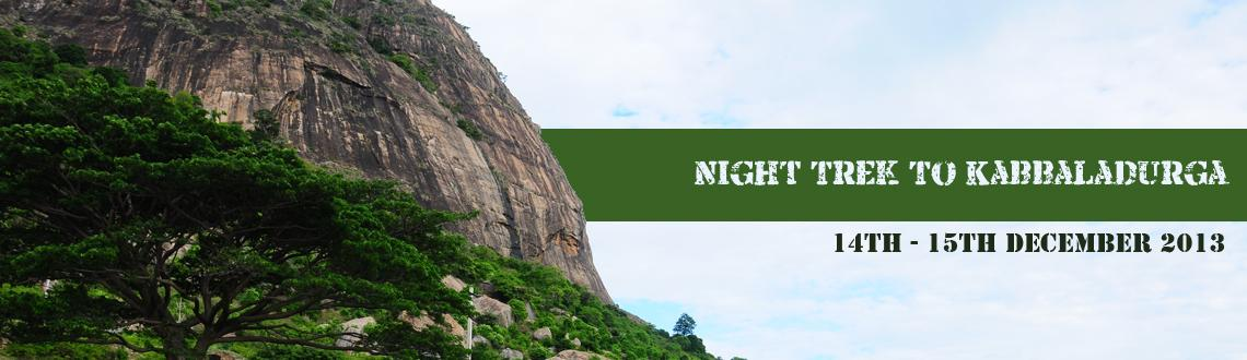 Book Online Tickets for Night Trek To Kabbaladurga, Bengaluru. About the Place: Kabbaladurga is a hillock near 20kms from Kanakapura and is approximately 70 kms away from Bangalore. The peak is home to the temple of Goddess Kabbalamma and had derived its name from the temple and the ruins of a fort at the p
