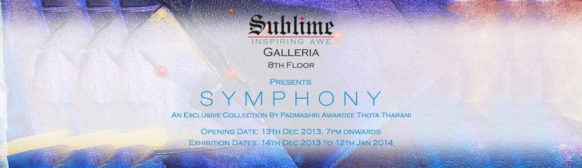 Symphony - An Exclusive Collection by Padmashri awardee, Thota Tharrani
