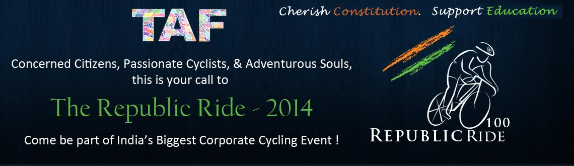 Book Online Tickets for The Republic Ride-2014, Hyderabad. The Republic Ride 2014: