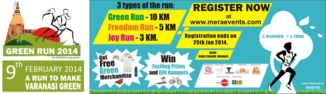 Book Online Tickets for Green Run 2014 - A Run For A Cause @ Var, Varanasi. # What is the Green Run?