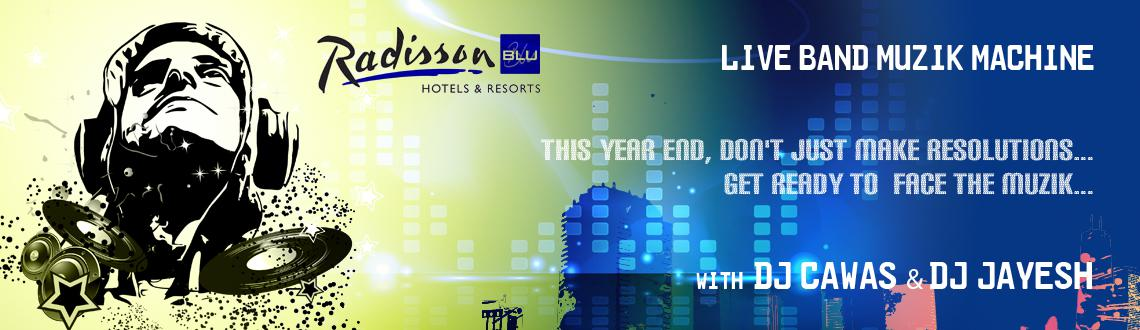 LIVE WIRE CONNECT TO 2014.. Swing in the new year @ Radisson Blu Pune