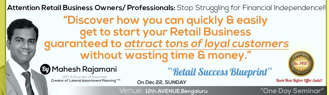 Retail success blueprint bengaluru meraevents create event login retail success blueprint malvernweather Image collections