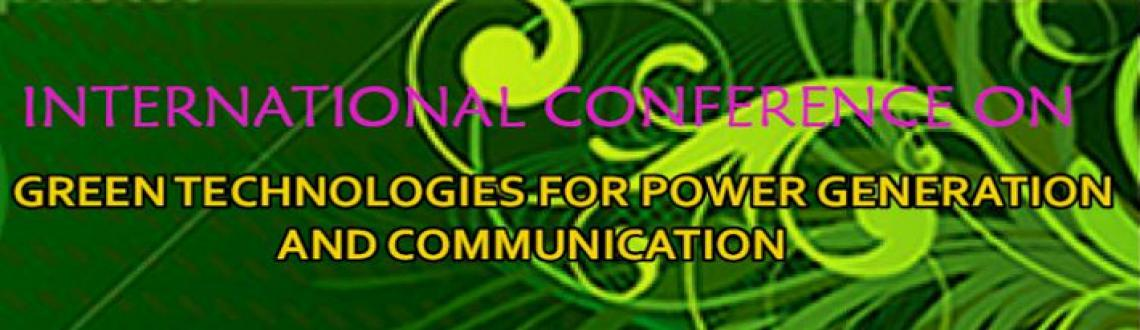 Book Online Tickets for Power Generation and Communication, Chennai. Recently the concern on power  generation  is  growing  rapidly,  as  power consumption increasingly becomes a global  problem. Green  Power  Conferences  are  dedicated  to  bring rese