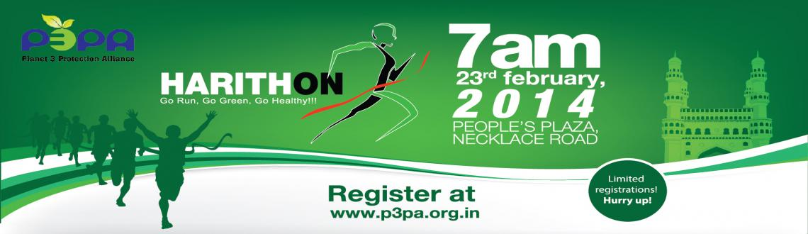 Book Online Tickets for Harithon 2014 @ Peoples Plaza,  Necklace, Hyderabad. Harithon is a Green Run organized byPlanet 3 Protection Allianceand many organizationsto promote Health and Eco-Friendly ways for a better living.Harithon aims to make people involve in fulfilling their social objectives and o