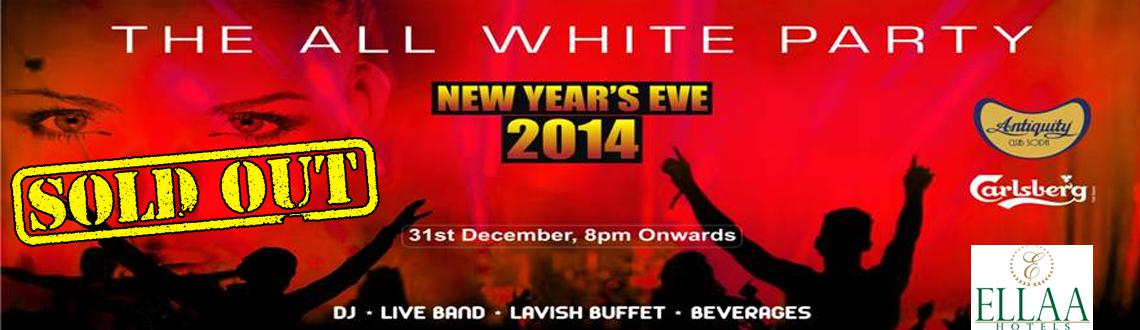 Book Online Tickets for The All White Party - NYE 2014 at Ella H, Hyderabad. Theme based parties are a popular pick for all occasions and so is the case with the New Year's Eve party, so why not ring in the New Year 2014 in all white at an All White New Year party that is being organized at the Ella Hotels. 