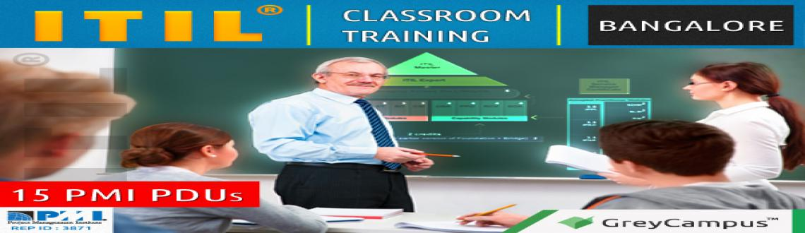 Book Online Tickets for ITIL Foundation Training Bangalore, Bengaluru.  GreyCampus brings to you a highly interactive 2-day classroom training and certification program for the ITIL® Foundation on 18th and 19th Jan 2014  100% Money Back Guarantee. Why GreyCampus for ITIL® Foundation?  • We