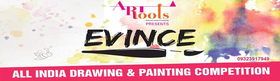 Book Online Tickets for EVINCE All India Drawing and Painting Co, Mumbai. Drawing Painting Competition for School students. 1st to 10th std. student can participate. Akhil Bhartiya Chitra kala Spardha. 2013. winner will be awarded trophy, cash prize, certificate,exhibition in art gallery, workshop (chance to work with arti