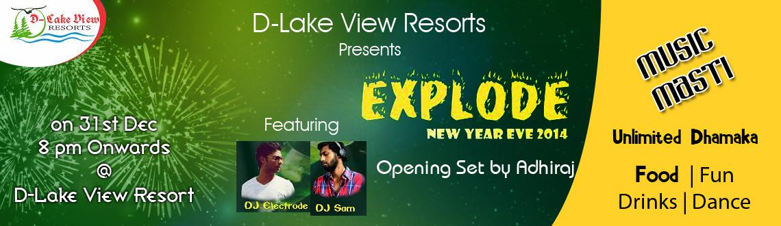 Explode New Year Eve 2014