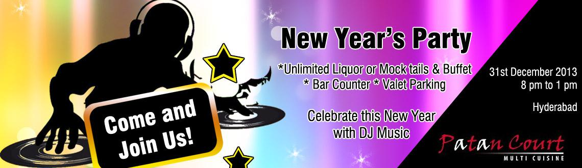 New Year Eve - 2014 with DJ at Patan Court