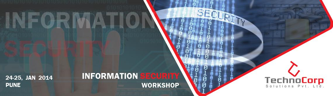Book Online Tickets for Information Security Workshop, Pune. 