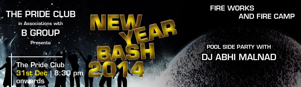 Book Online Tickets for New Year Bash , Bengaluru.  Celebrate the New Year's Eve in Bangalore at the biggest New Year Bash, which is being organized at the Pride Club with a host of entertainment and fun activities ranging from live performances by ace DJs, several exciting surprises alo